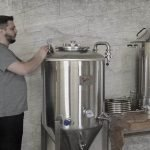 Some of our small-batch brewing equipment...allowing us to brew more unique and creative beers, all while keeping our batches fresh for each pour.
