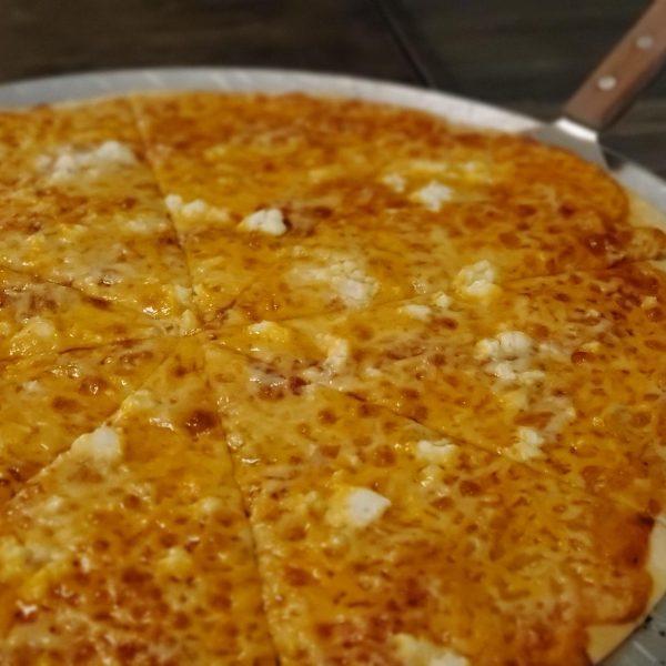 Cheesy Love Pizza
