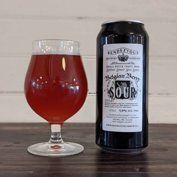 Belgian Berry Sour - 473ml CAN